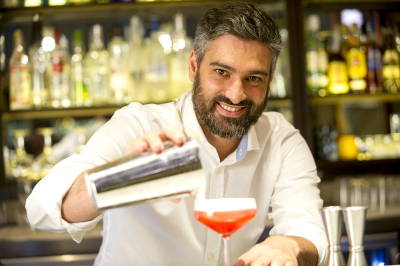 Diego Cabrera, coctelería para la vida